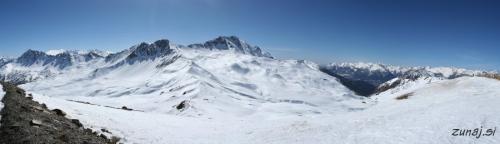 Pogled iz La Mayt(2580m)