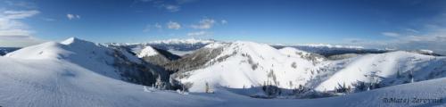 Panoramski pogled z vrha