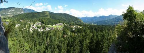 Pogled iz vrha smeri Poka