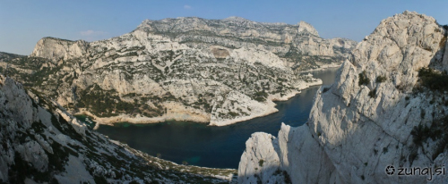 Panoramski pogled na zaliv Morgio