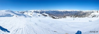 Pogled iz vrha 6 sede Peyrefolle (2457m)