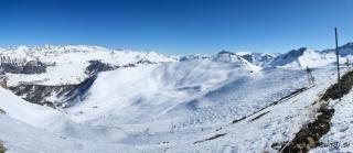 Pogled proti Varsu iz vrha 4 sede(Pte de Razis 2571m)