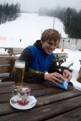 Počitek ob pivu in čaju