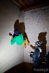 Plezanje bolderja v kuhinji