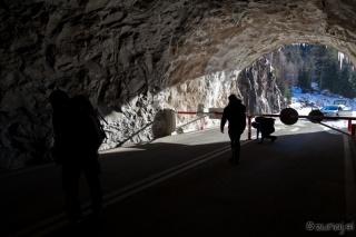 Vstopili smo v tunel