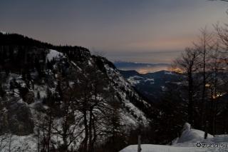 Pogled proti dolini