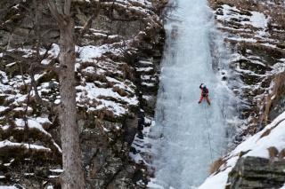 Plezalec v Gamsecku