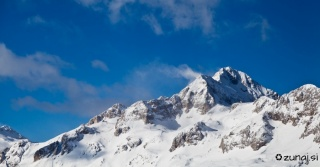 Snežne zastave na Triglavu