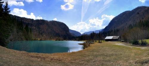 Panoramski pogled na jezero Kreda