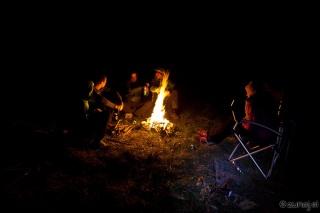 Večer ob ognju