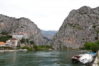 Začetek kanjona Cetine