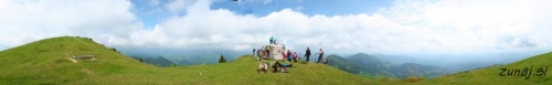 360° panorama iz trdnjave