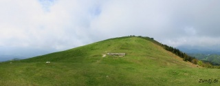 Pogled na vrh Blegoša