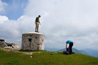 Jernej na vrhu trdnjave