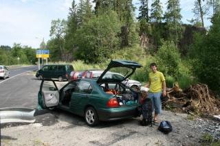 Zbiranje plezalne opreme