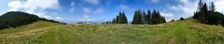 180° pogled na Bevkovo planino