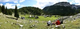 Posedanje na planini