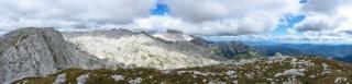 Severna in vzhodna okolica iz vrha Debelega vrha