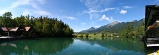 Jezero Črnava v Preddvoru