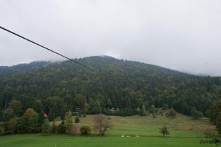 Pogled proti vrhu Kriške gore