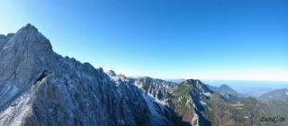Pogled iz vrha Zelenjaka proti severo-zahodu