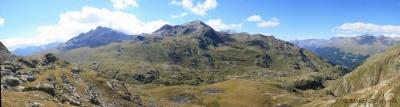 Pogled iz ledenika proti Gaviu