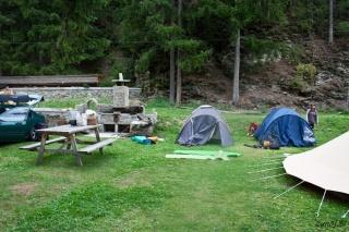 Postavljanje šotorov