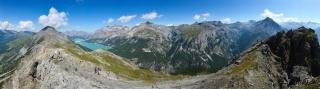 Pogled iz Croce Monte Scale