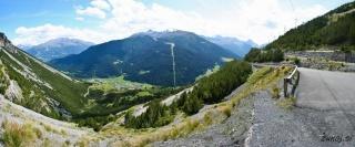Pogled iz plezališča
