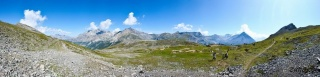 Sedlo na monte Scale
