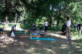 Pospravljanje v kampu