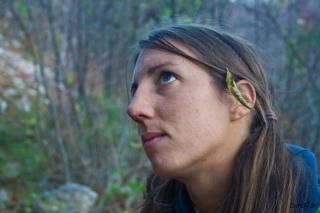 Listje v laseh