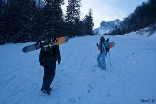 Prvi koraki po snegu