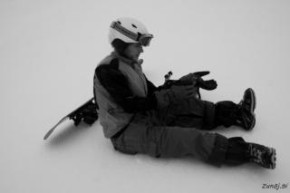 Močan veter in sneženje