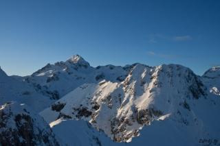 Triglav in Mali Draški vrh