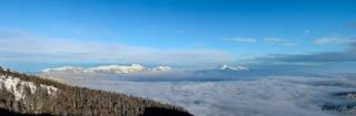 Pogled na Karavanke in KS Alpe
