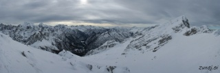 Pogled iz vrha Male Mojstrovka