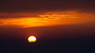 Sončni zahod na Socerbu
