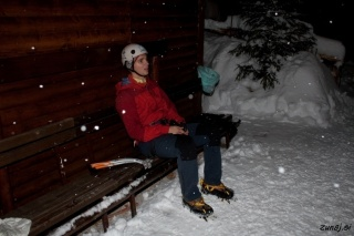Počitek po plezanju