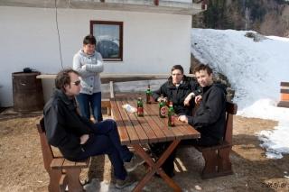 Na zasluženem pivu