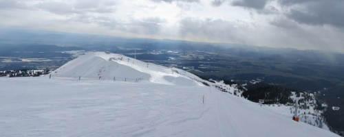 Panorama iz vrha Zvoha