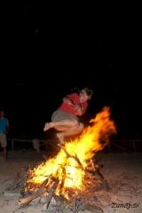 Mareta se ogenj boji