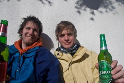 Počitek ob pivu