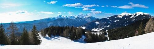 Panoramski pogled na okolico Španovega vrha