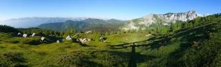 Planina Krstenica in Ogradi