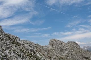Modro nebo nad vrhom
