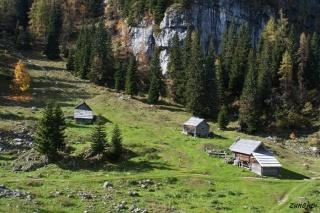 Hiške na planini