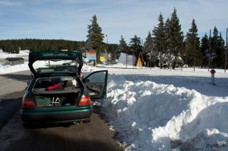 Ogromno napluženega snega