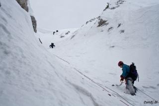 Prvi plezalci že izstopajo