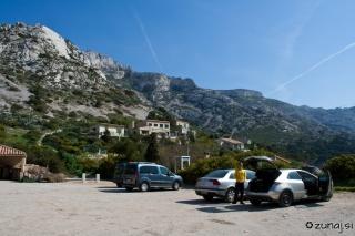 Parkirišče v Sormiou